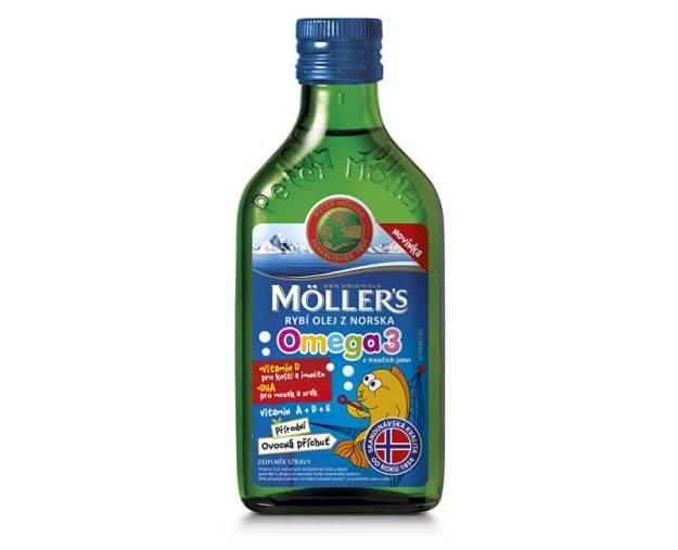 Möller`s rybí olej z tresčích jater z Norska s přírodní ovocnou příchutí 250 ml (z52397) od www.prozdravi.cz