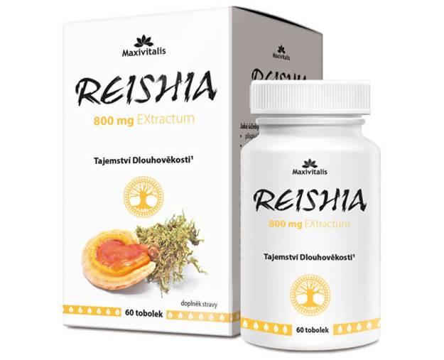 REISHIA 800 mg EXtractum 60 tob. (z52666) od www.prozdravi.cz