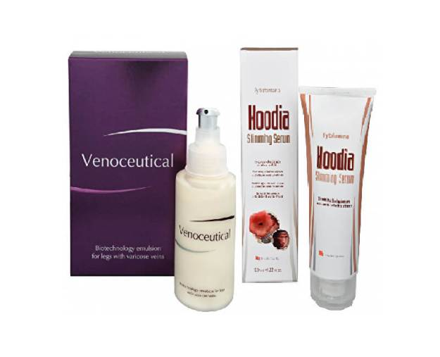 Venoceutical - biotechnologická emulze na křečové žíly 125 ml + Hoodia slimming serum 120 ml (z52651) od www.prozdravi.cz