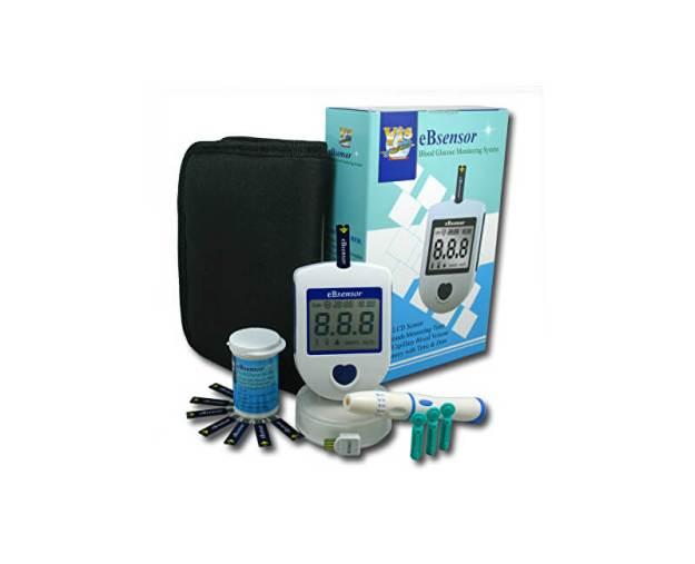 Glukometr eBsensor set + 50 proužků (z53968) od www.prozdravi.cz