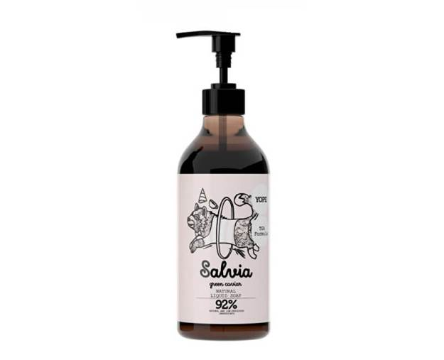 Yope Tekuté koupelnové mýdlo s TGA formulí Šalvěj a zelený kaviár 500ml (z53613) od www.kosmetika.cz
