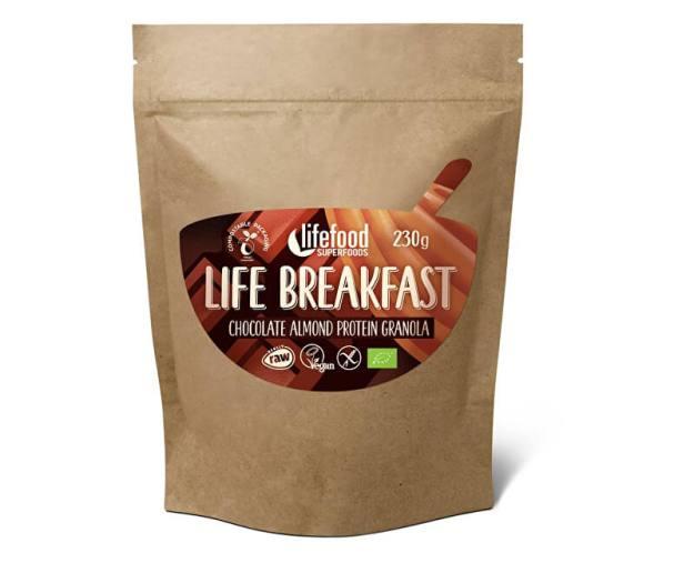 Bio Life breakfast Granola čokoládová s mandlemi 230g (z54792) od www.prozdravi.cz