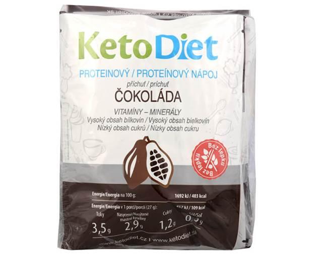 Proteinový nápoj příchuť čokoláda 7 x 27 g (z54021) od www.prozdravi.cz