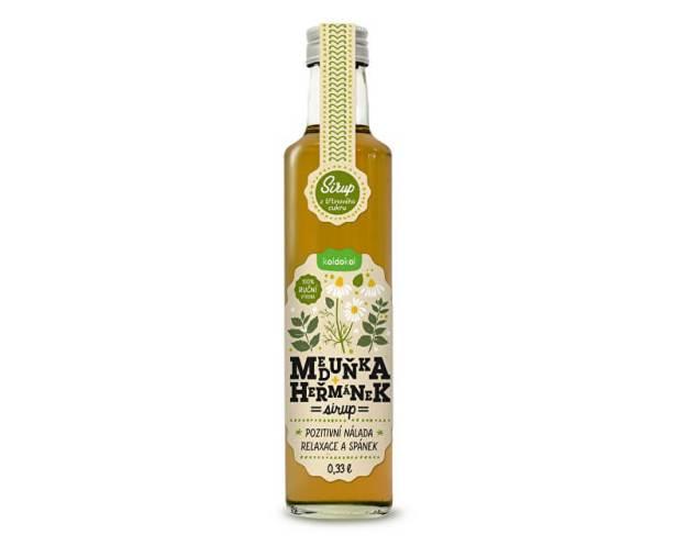 Sirup meduňka a heřmánek 0,33 l (z54949) od www.prozdravi.cz