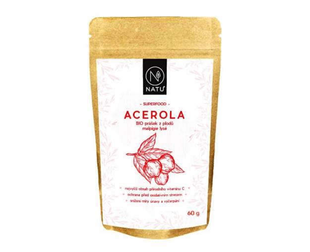 Acerola prášek 80 % BIO 60 g (z55151) od www.prozdravi.cz
