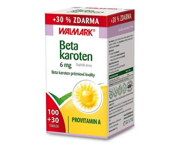 Beta karoten 100 tob. + 30 tob. ZDARMA (z55759) od www.prozdravi.cz