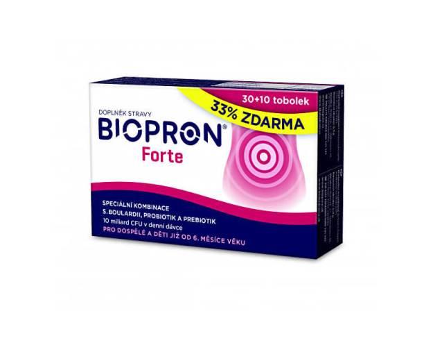 Biopron Forte 30 tob. + 10 tob. ZDARMA (z55689) od www.prozdravi.cz