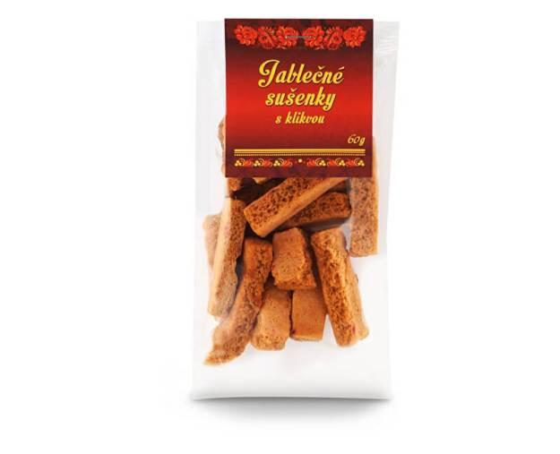 Jablečné sušenky s klikvou 60g (z55944) od www.prozdravi.cz