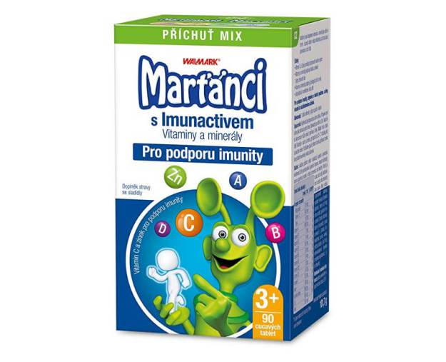Marťánci s Imunactivem příchuť MIX 90 tbl. (z55706) od www.prozdravi.cz