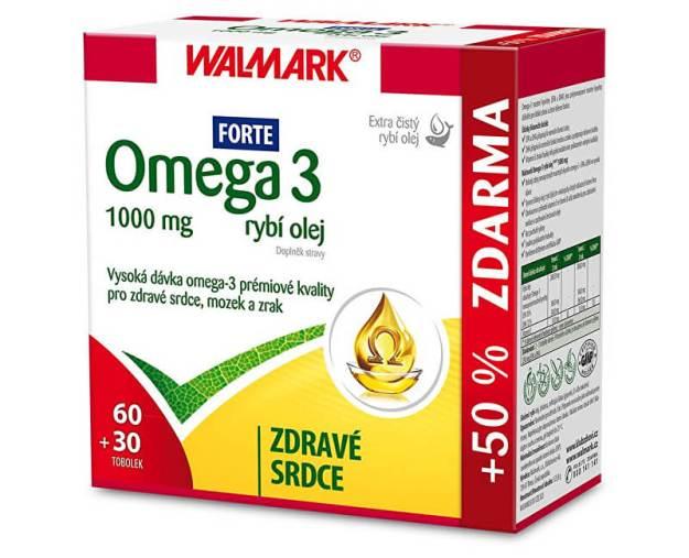 Omega 3 rybí olej Forte 60 tob. + 30 tob. ZDARMA (z55796) od www.prozdravi.cz