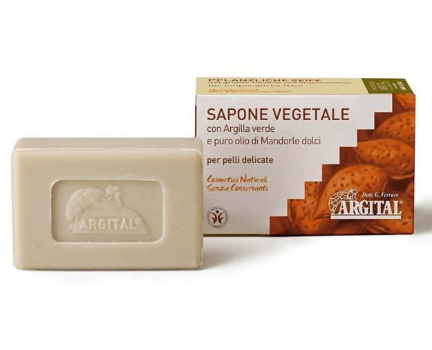Rostlinné mýdlo se zeleným jílem a mandlovým olejem 100 g (z55036) od www.prozdravi.cz