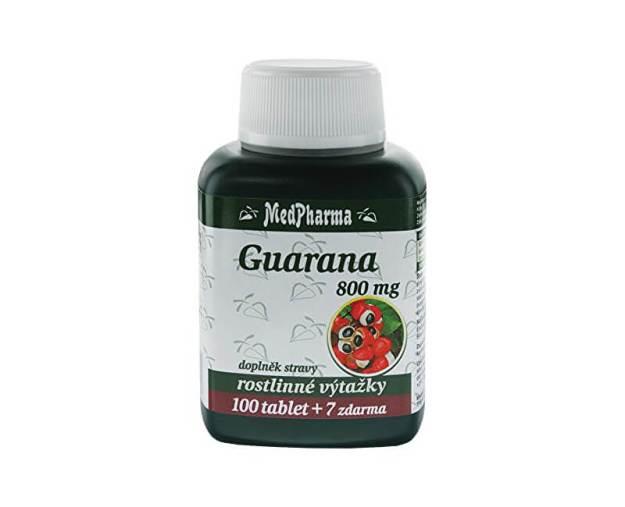 Guarana 800 mg 100 tbl. + 7 tbl. ZDARMA (z56014) od www.prozdravi.cz
