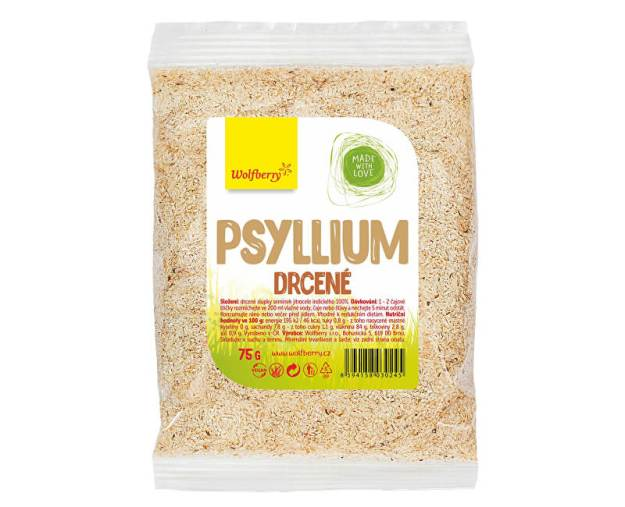 Psyllium drcené 75 g (z56494) od www.prozdravi.cz