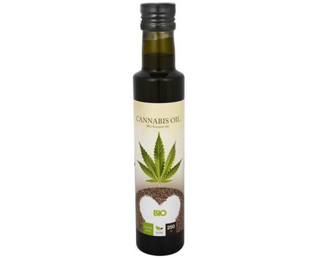 Natural Medicaments Cannabis oil - BIO Konopný olej 250 ml - SLEVA - POŠKOZENÁ ETIKETA (zSLEVA0101) od www.kosmetika.cz