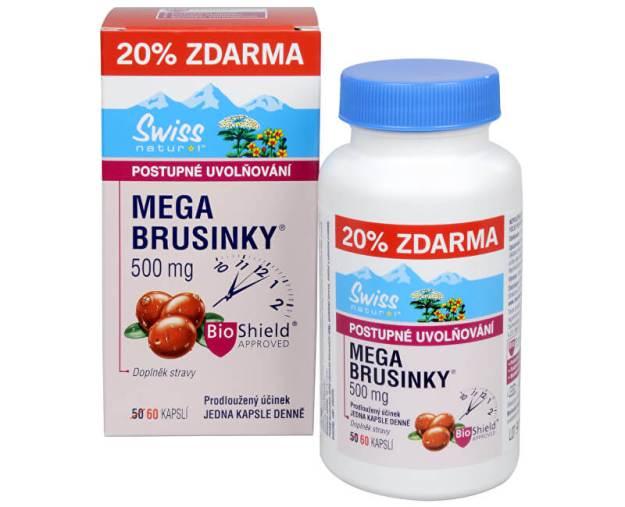 Mega Brusinky 500 mg 50 kapslí + 10 kapslí ZDARMA - SLEVA - BEZ KRABIČKY (zSLEVA0745) od www.prozdravi.cz