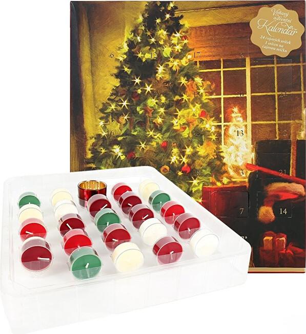 Albi Adventní kalendář Vánoce - SLEVA - potrhaný obal