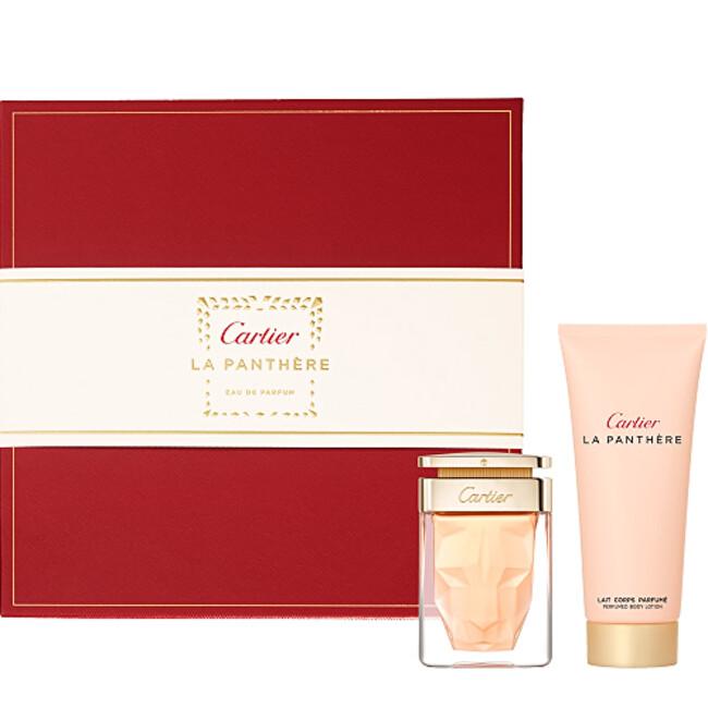 Cartier La Panthere - EDP 50 ml + sprchový gel 100 ml