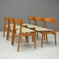 Erik Buck Chairs Baby Sitting Chair Images Set Of 6 Dining By For Od Mobler 5867