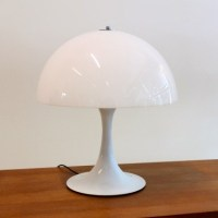 Mushroom Desk Lamp from the sixties by Unknown Designer ...