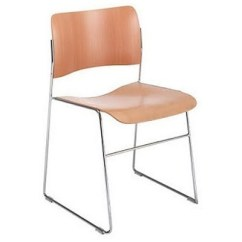 David Rowland Metal Chair Rocking For Baby 2 X 40 4 Stacking Chairs Dining By Howe 32774