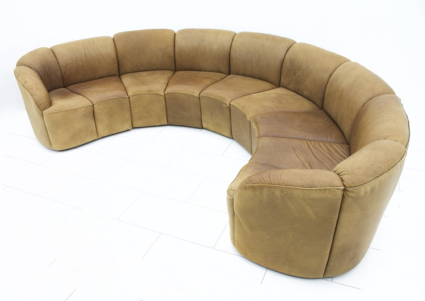 half circle chair folding with umbrella round sofa younger furniture sienna collection thesofa