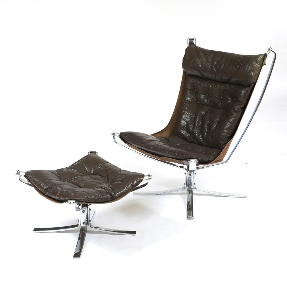 Falcon Chair Falcon Lounge Chair By Sigurd Ressell For Vatne Møbler 1970s