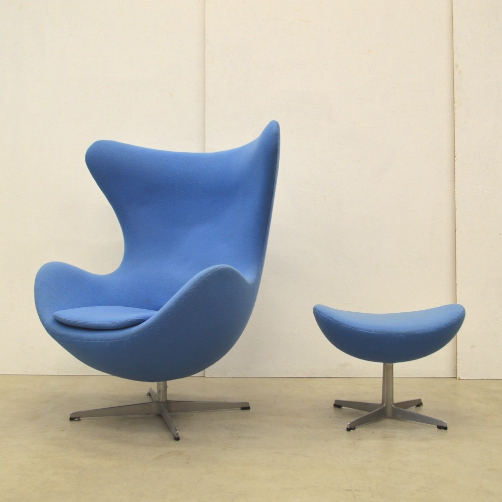 Egg lounge chair by Arne Jacobsen for Fritz Hansen 1970s