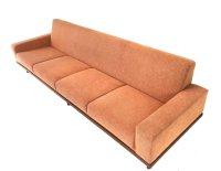 Teak Four-Seat Sofa, 1960s   #63712