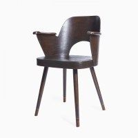 Dinner Chair from the sixties by Unknown Designer for Ton ...