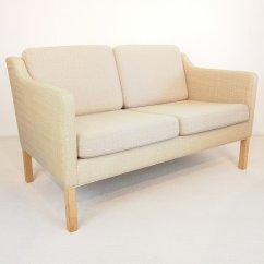 Borge Mogensen Sofa Model 2209 Leather Bed Chaise Australia Vintage Black