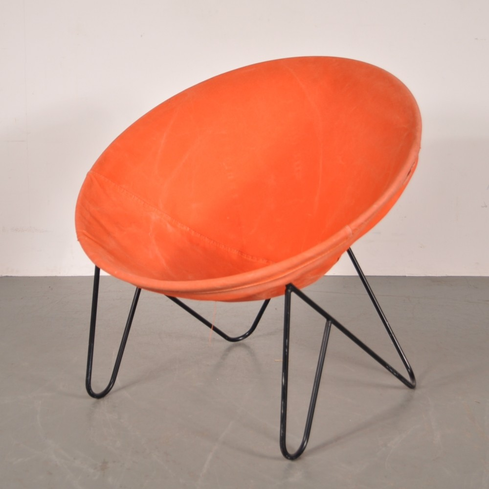 Vintage lounge chair 1950s  70282