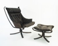 Falcon lounge chair by Sigurd Ressell for Vatne Mbler ...