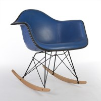Blue Vinyl Herman Miller Original Eames Blue RAR Rocking ...