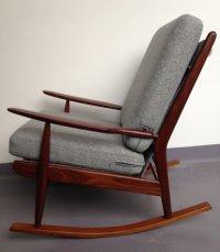 Mid Century British Teak Rocking Chair / Nursing Chair by ...