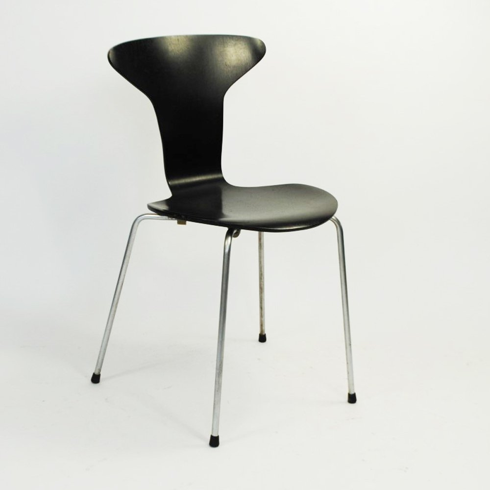 Fritz Hansen Chairs Mosquito Dining Chair By Arne Jacobsen For Fritz Hansen 1950s