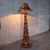 Vintage floor lamp, 1940s | #37552