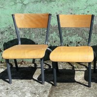 Vintage Toddler school chairs, 1960s | #40402