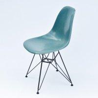 2 x DSR Dining Side Chair Fiberglass Turquoise dinner ...