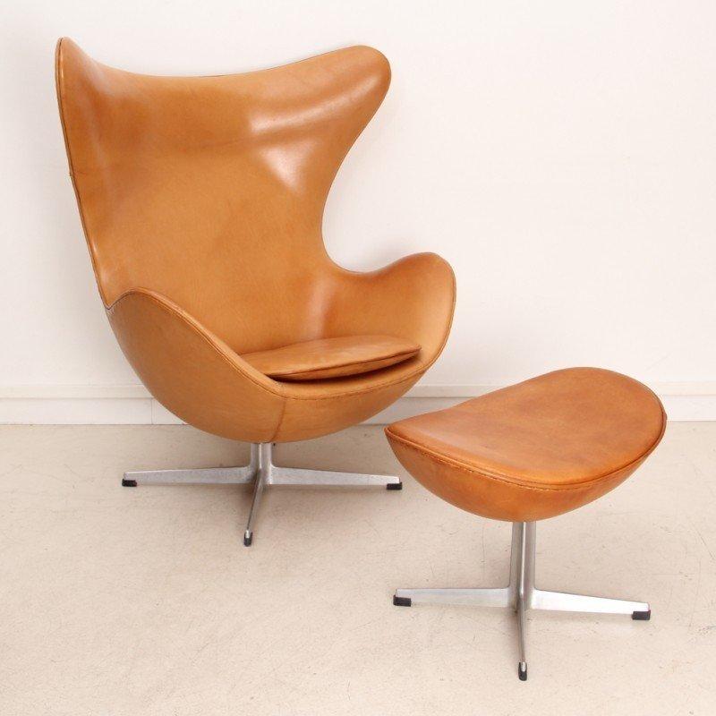 Egg lounge chair by Arne Jacobsen for Fritz Hansen 1950s