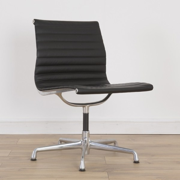 Alu Group Ribbed Leather Office Chair Charles & Ray
