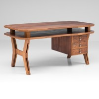 Vintage writing desk, 1960s | #54706