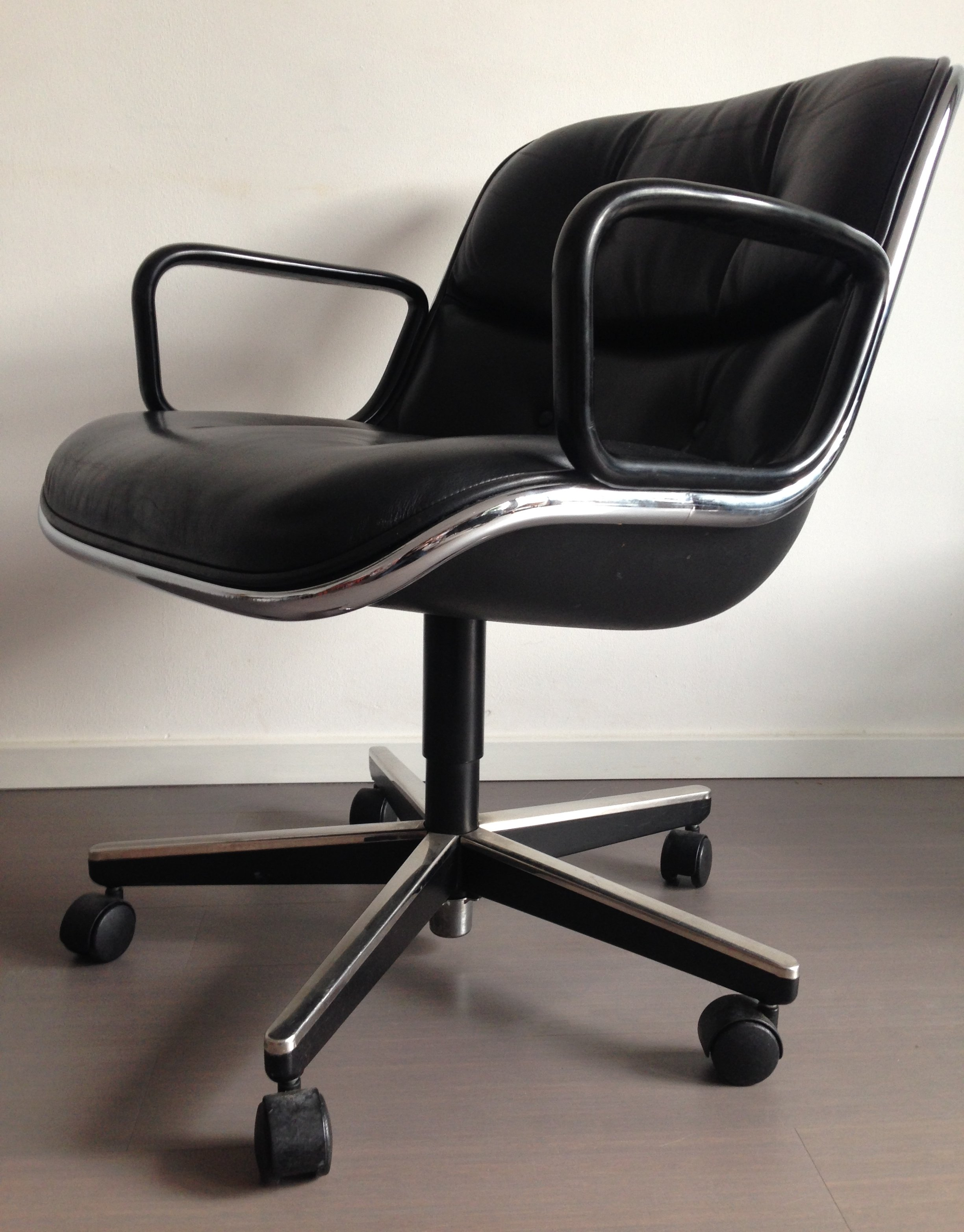 Knoll Pollock Chair Office Chair By Charles Pollock For Knoll 1960s 58471