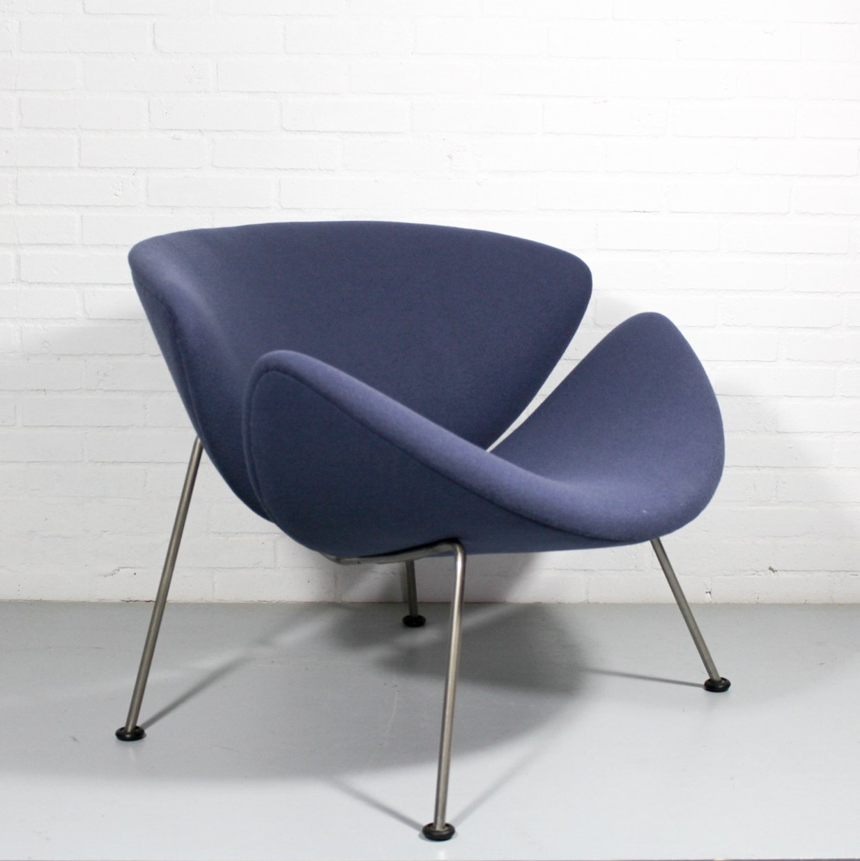 orange slice chair plastic beach chairs lounge by pierre paulin for artifort