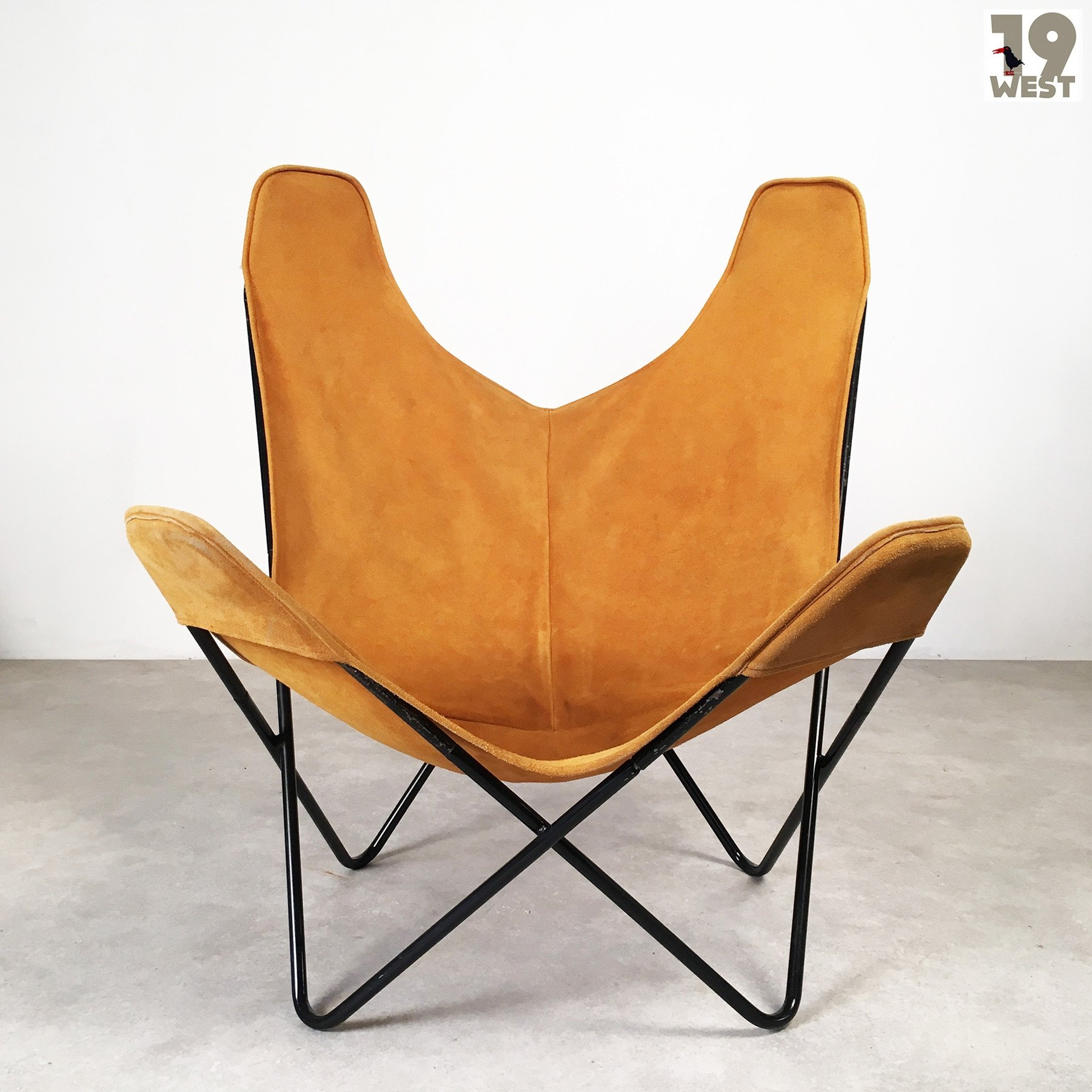 butterfly lounge chair toddler bean bag seat by jorge ferrari hardoy for knoll