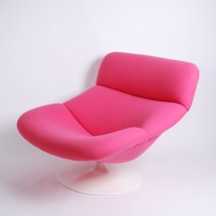 Pink Swivel Chair Fishing Lazada Artifort F518 Lady Lounge By Geoffrey Harcourt