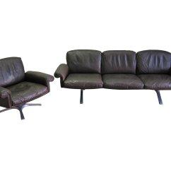 De Sede Sleeper Sofa Sofas With Small Depth Desede Vintage 5 Piece Leather At