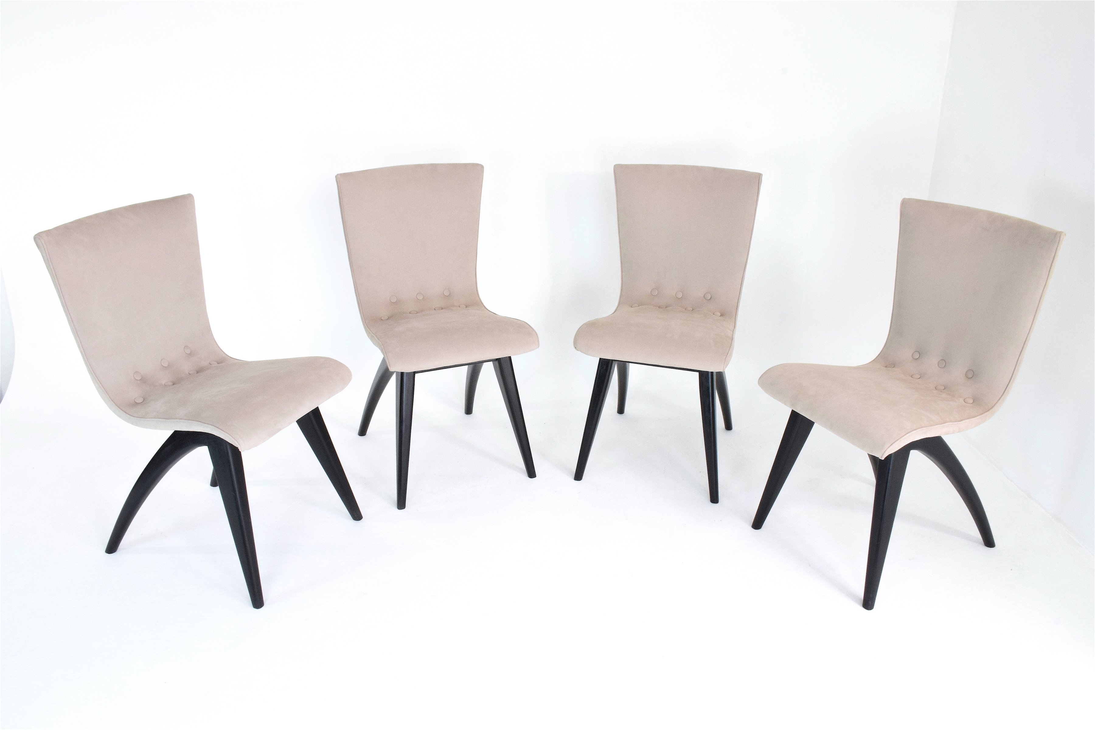 Marrakech Swing Chair Set Of 4 Swing Dining Chairs By Cj Van Os 1950s 73488