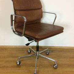 Herman Miller Leather Chair Wood Lawn 39ea217 39 Eames Office By With