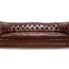 Chesterfield Leather Sofa Sure Fit Ultimate Waterproof Suede Cover Vintage Online