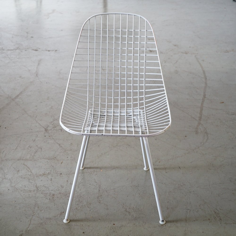 Eames Wire Chair White Eames Dkr Wire Chair